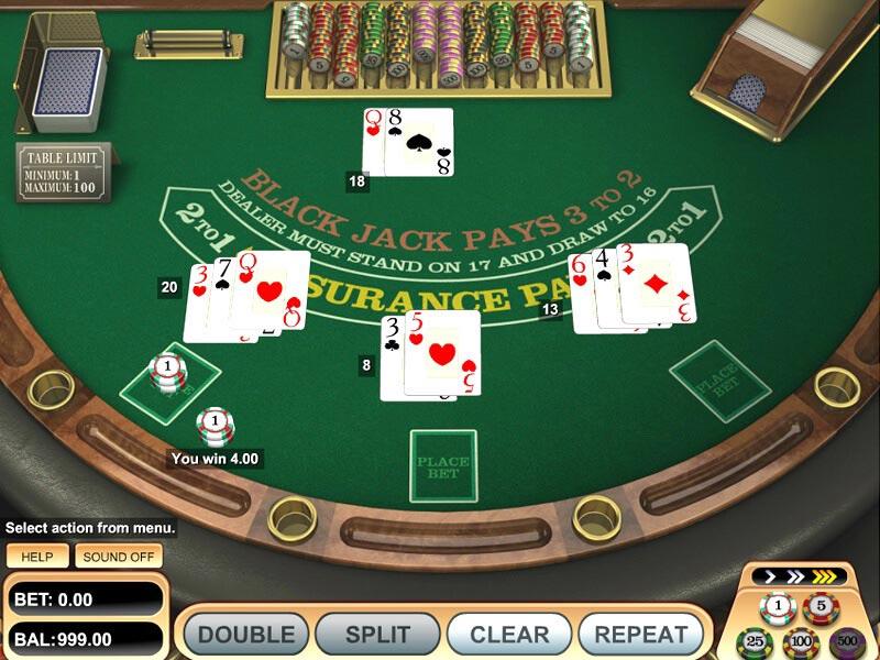 Online 21 Blackjack